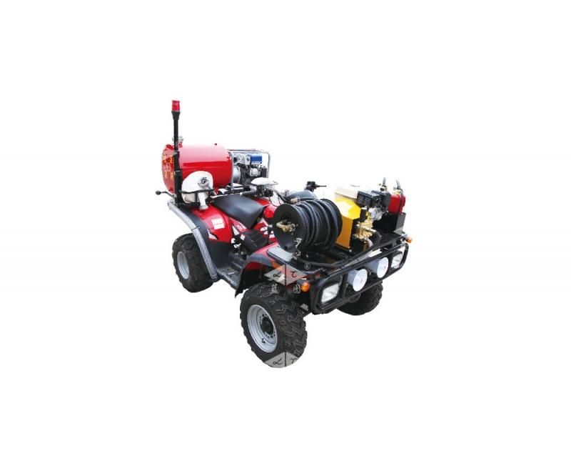 XMC4JB / 3.3-PW / 100-LH300ATV-YA Four-wheel Fire Motorcycle